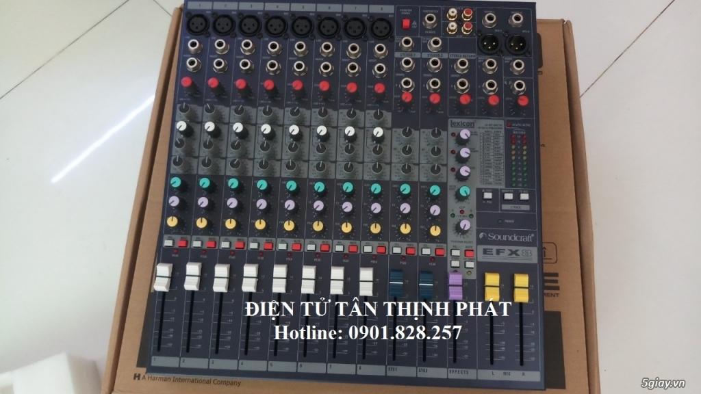 bán mixer soundcraft efx8 - 2