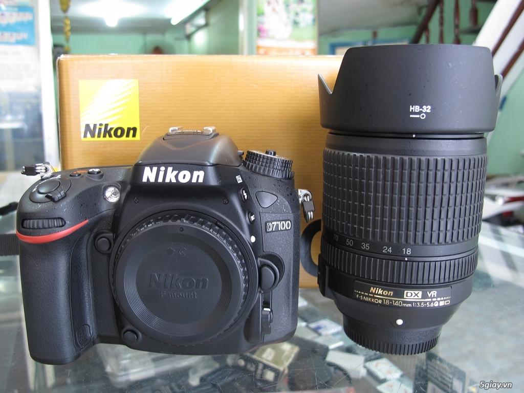 nikon D7100 -như mới Full box -chụp 4k -kèm lens 18-140VR như mới - 1