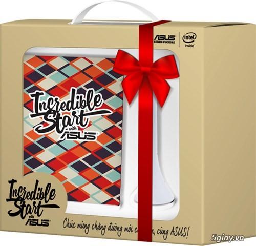 Bộ quà tặng laptop ASUS Đèn đọc sách + túi chống sốc mới 100% End 23h: 29/10/19