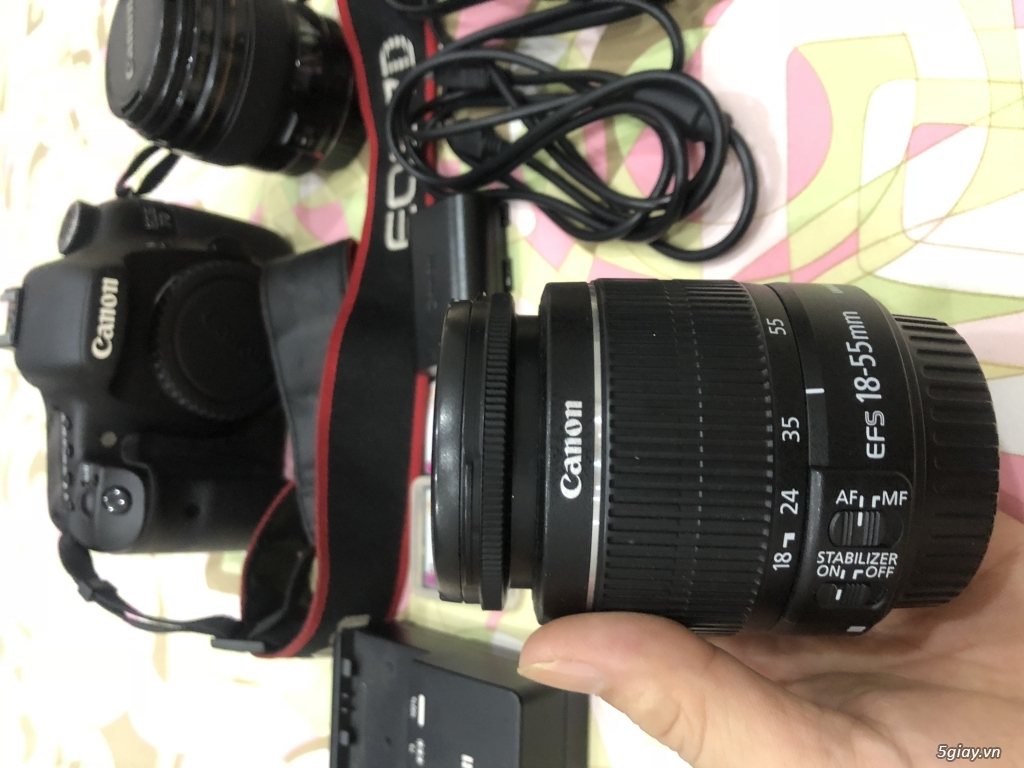 Combo Canon 7D còn mới sử dụng tốt