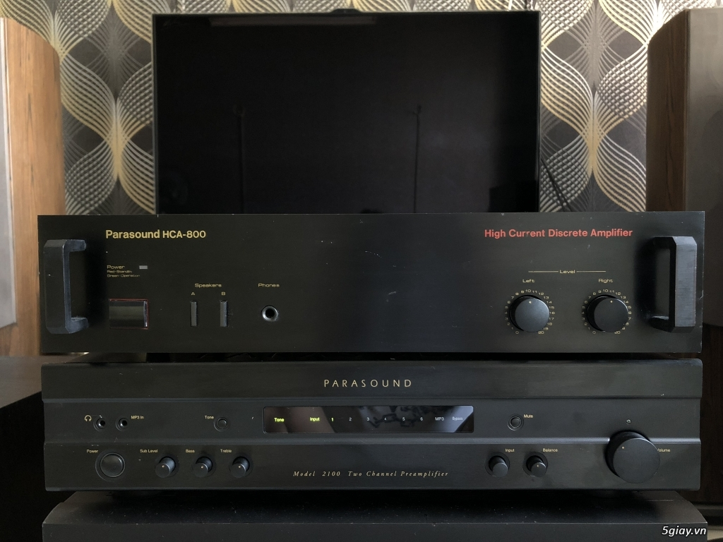 Ampli, CD, receiver, loa, subwoofer, center, surround các loại... - 24