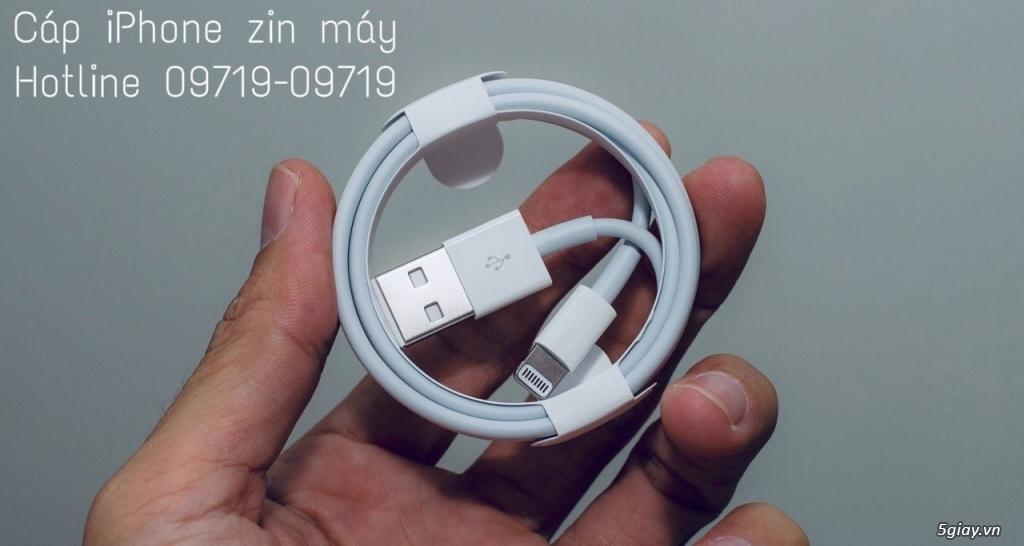 Có ít cáp zin máy iPhone 7/7Plus new 100% .. END 23h59 - 9/11/2018 - 2