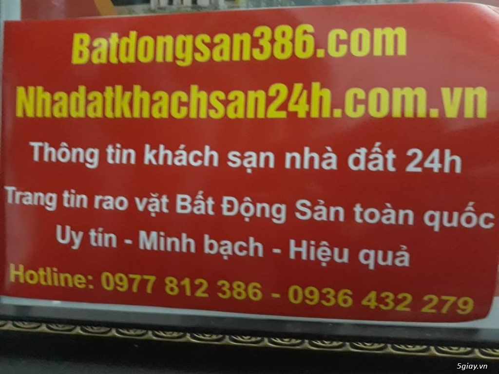 Nhadatkhachsan24h.com.vn  & Batdongsan386.com - Website Nhà Đất 24H - 36