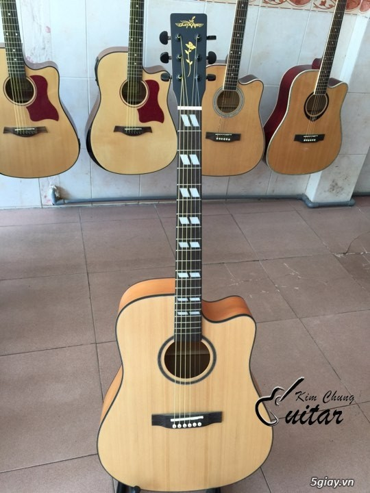 Đàn guitar acoustic Guitarist khảm cần