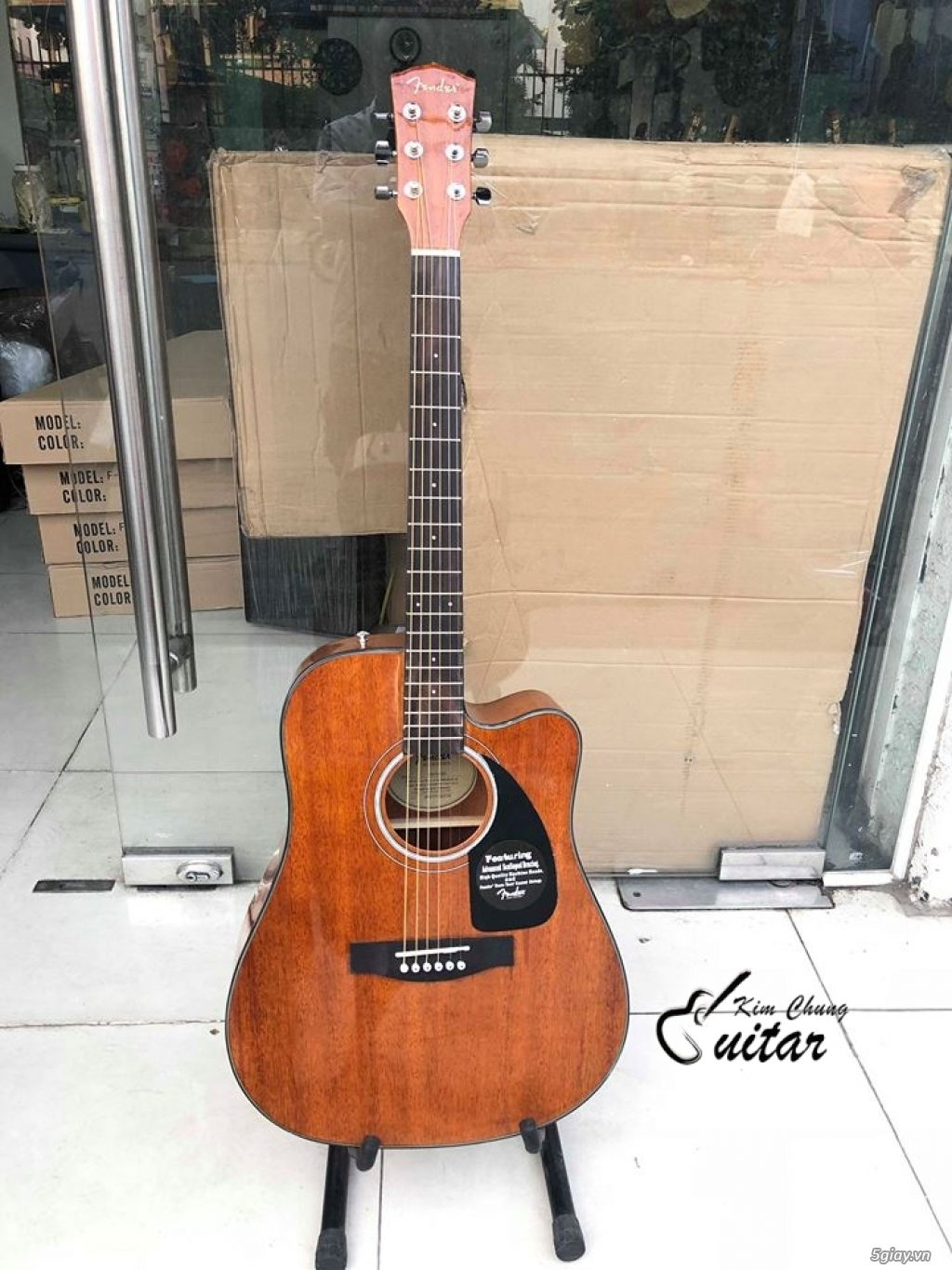 Đàn guitar acoustic Fender Cd140SC