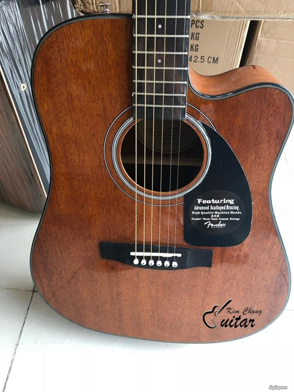 Đàn guitar acoustic Fender Cd140SC - 2