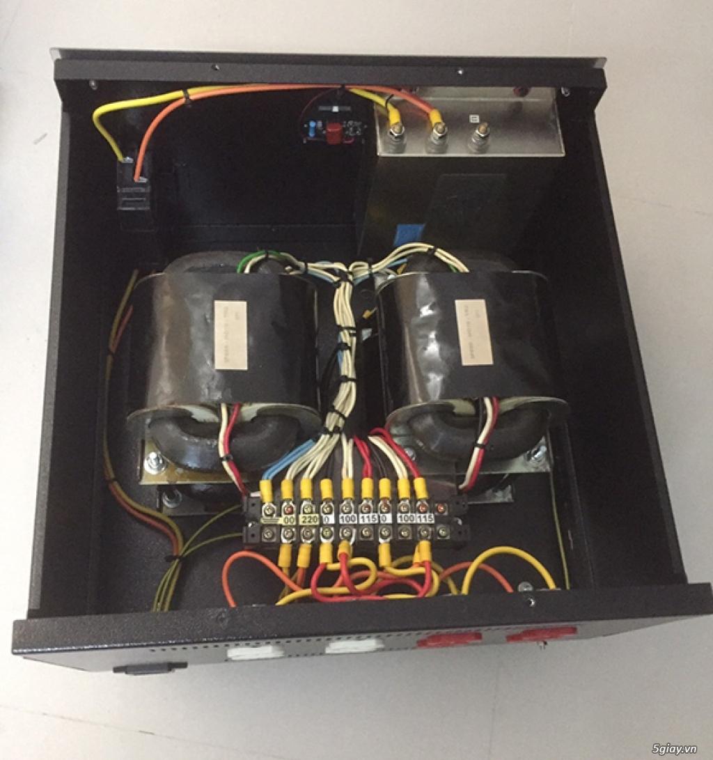 Biến áp cách ly , thùng biến áp cách ly, lọc điện - 6