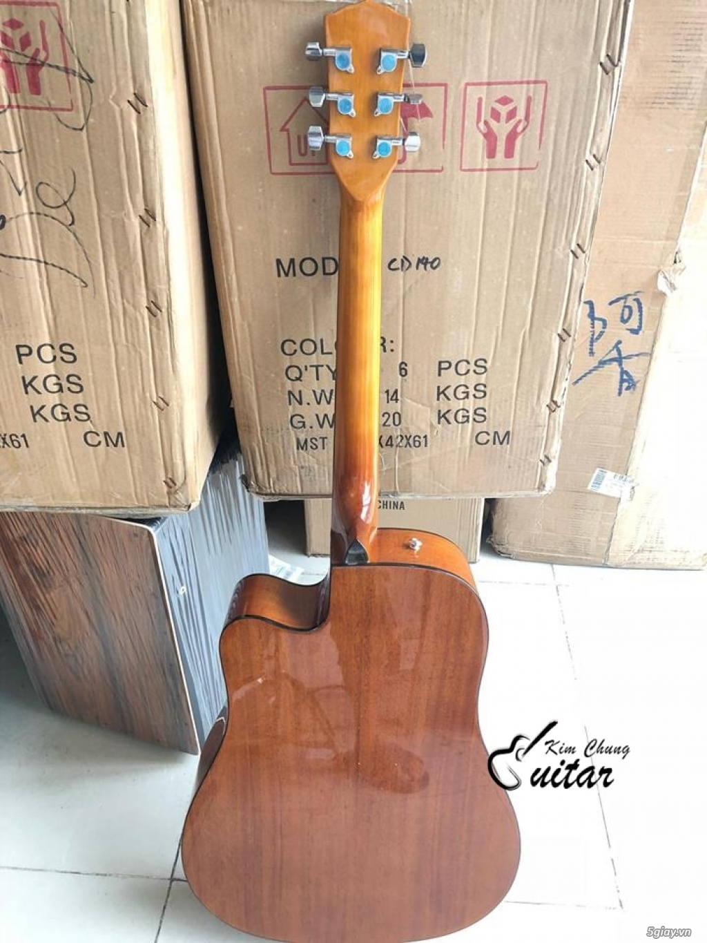 Đàn guitar acoustic Fender Cd140SC - 1