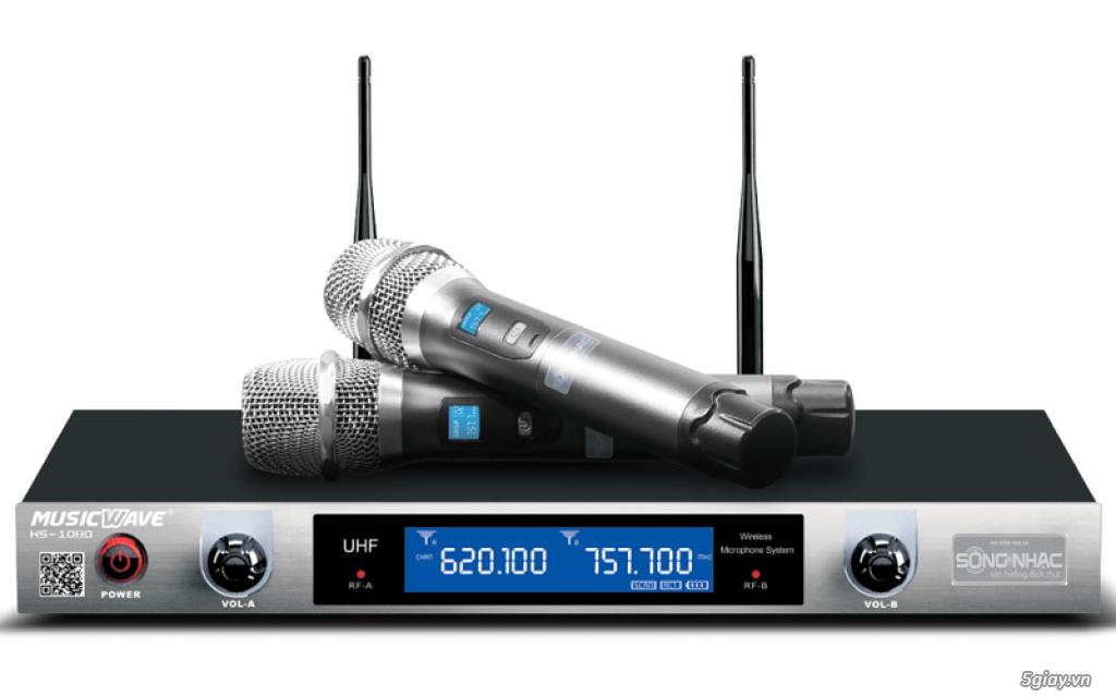 thanh lý micro không dây MUSIC WAVE HS 1080 ( CHÍNH HÃNG SÓNG NHẠC)