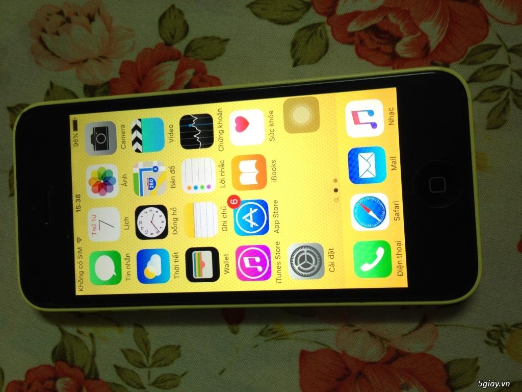 iphone 5c 32gb ip5c lock nhật iphone5c zin vợ dùng