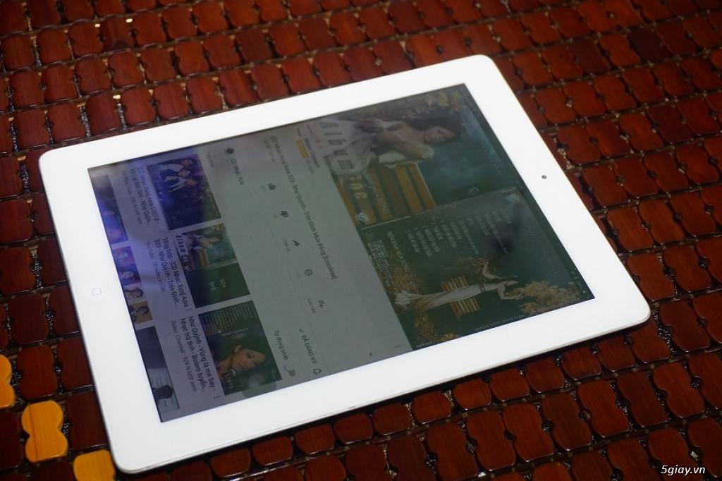 Bán Ipad 2 Màu trắng 64GB bản dùng sim 3G - 4