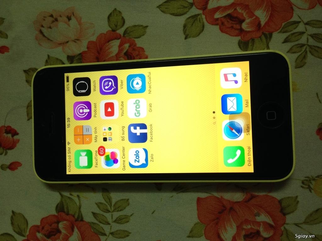 iphone 5c 32gb ip5c lock nhật iphone5c zin vợ dùng - 1