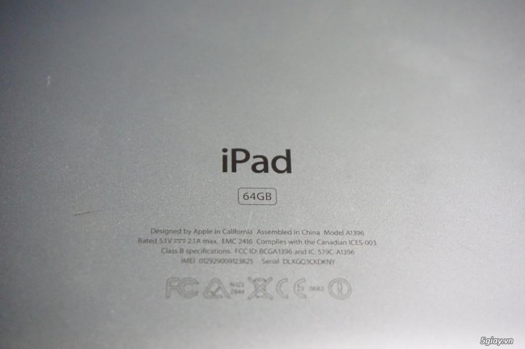 Bán Ipad 2 Màu trắng 64GB bản dùng sim 3G - 2