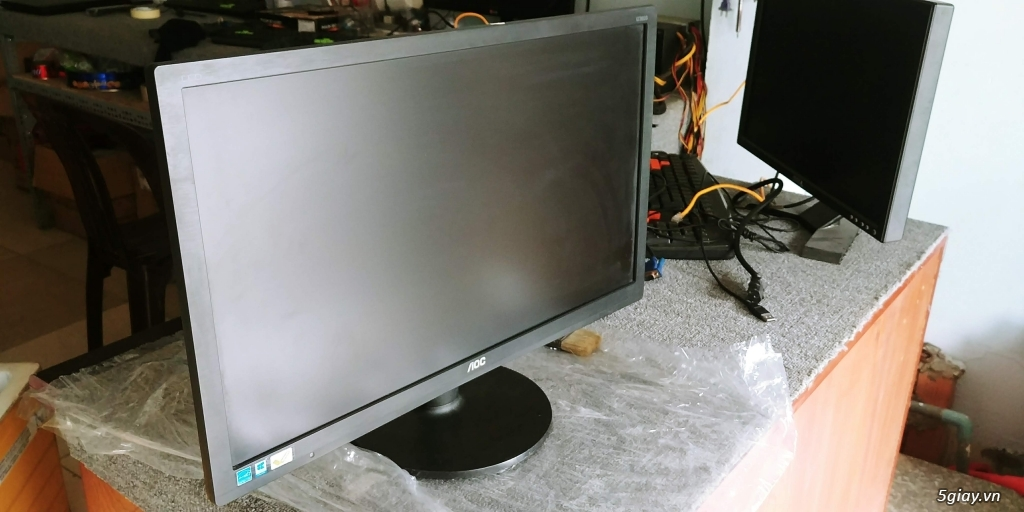 15 con màn hình 24 inch  AOC còn bảo hành 9 tháng giá tốt - 2