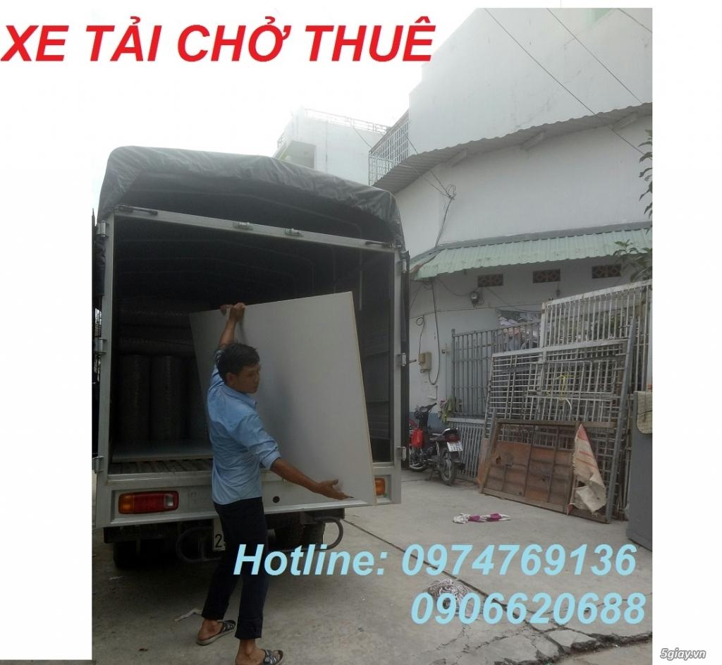 Xe tải chở thuê quận Bình Chánh – 0974769136 – chuyển nhà, văn phòng giá rẻ
