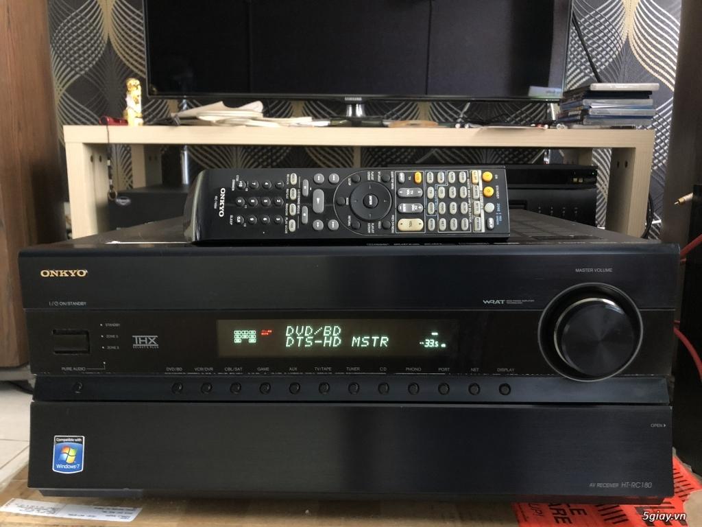 Receiver và ampli (nghe nhạc & xem phim-3D-dtsHD-trueHD-HDMA)loa-center-sub-surround. - 24