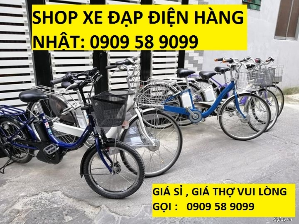 Shop Xe đạp điện hàng Nhật 0909718088 - 5