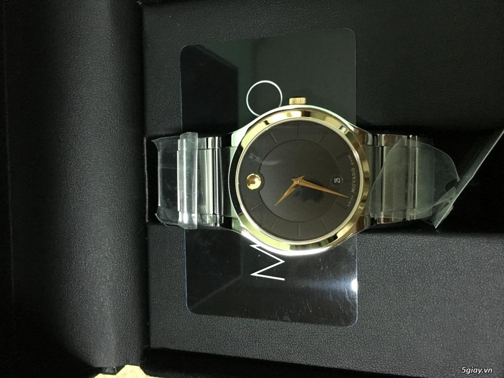 Đồng hồ Movado Quadro vàng - 4