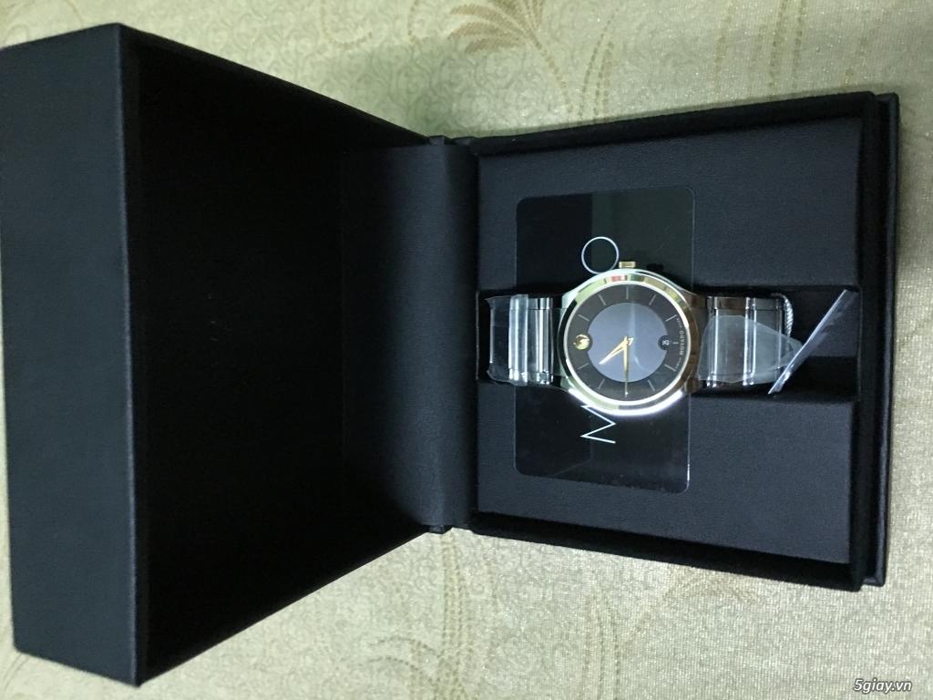 Đồng hồ Movado Quadro vàng - 1