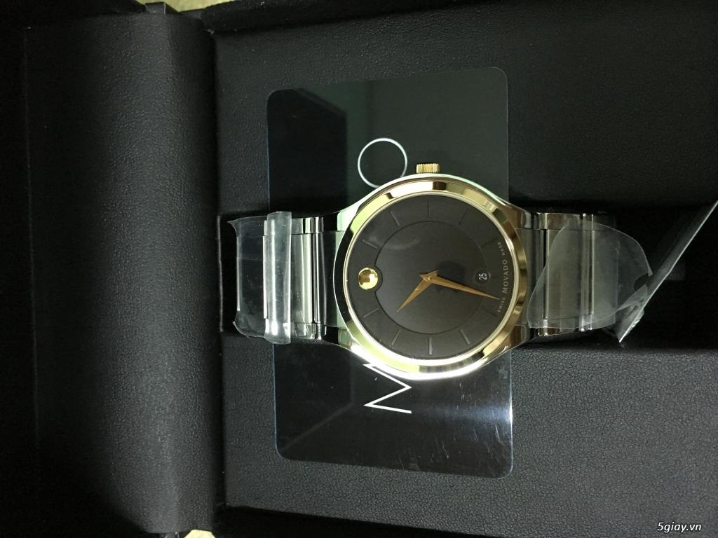 Đồng hồ Movado Quadro vàng - 3