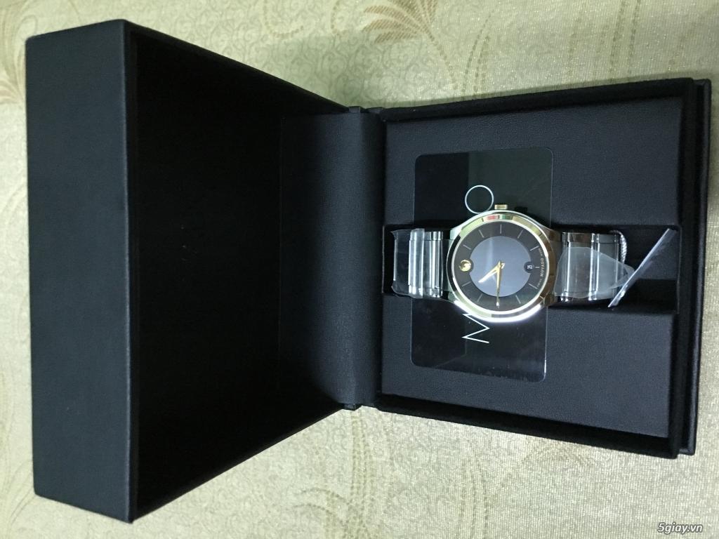 Đồng hồ Movado Quadro vàng - 2