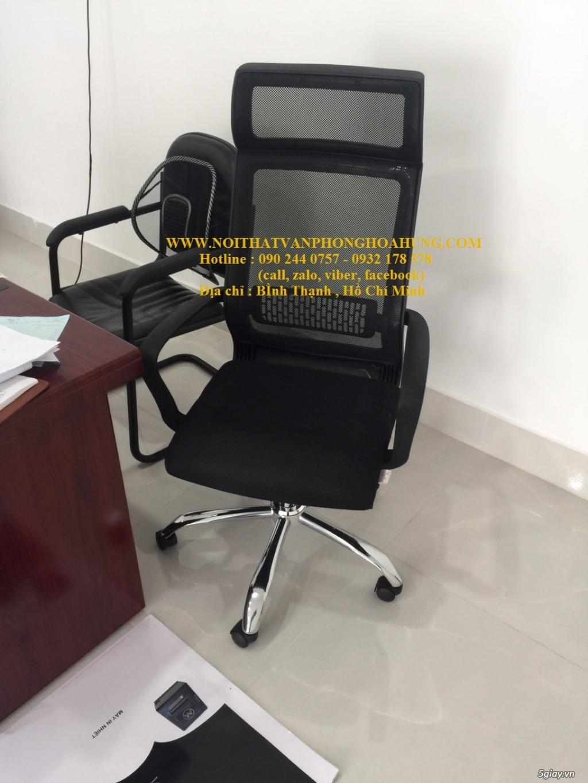 Ghế giám đốc lưới cao cấp - miễn phí giao hàng các quận HCM - 3