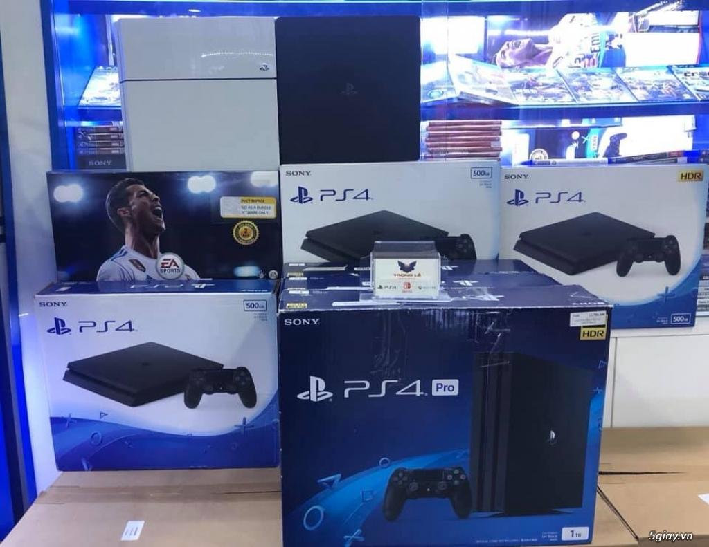 Chuyên mua bán sửa chữa máy game PS4, PS3, NINTENDO SWITCH,phụ kiện... - 1