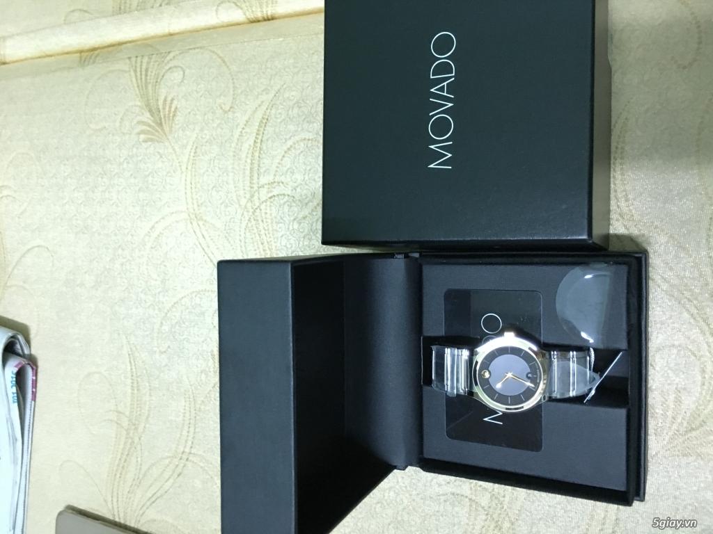 Đồng hồ Movado Quadro vàng