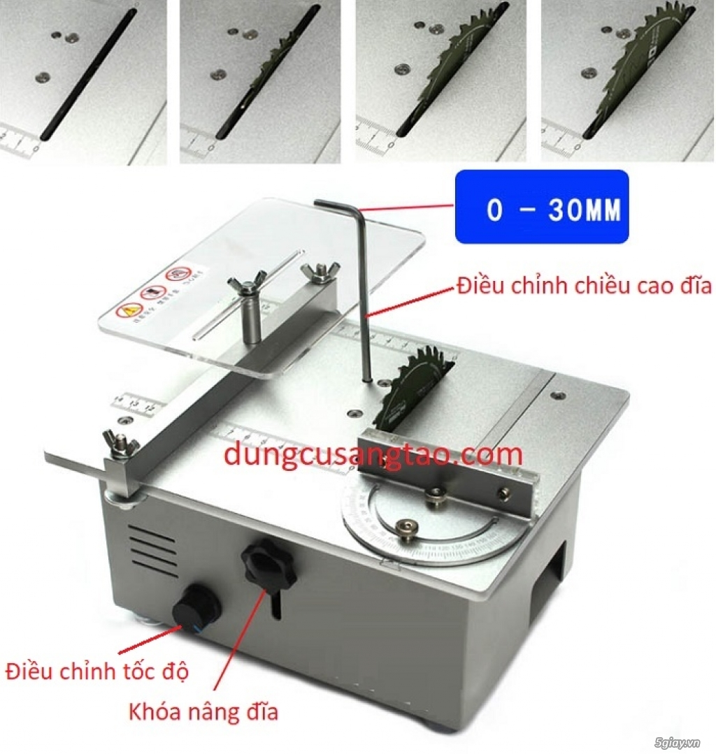 Máy cắt mini 24V kiểu 3 REV - 3