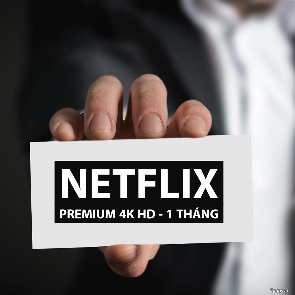 Voucher Combo Tài Khoản Netflix + Spotify + IFlix Thời Hạn 1 Tháng - 2