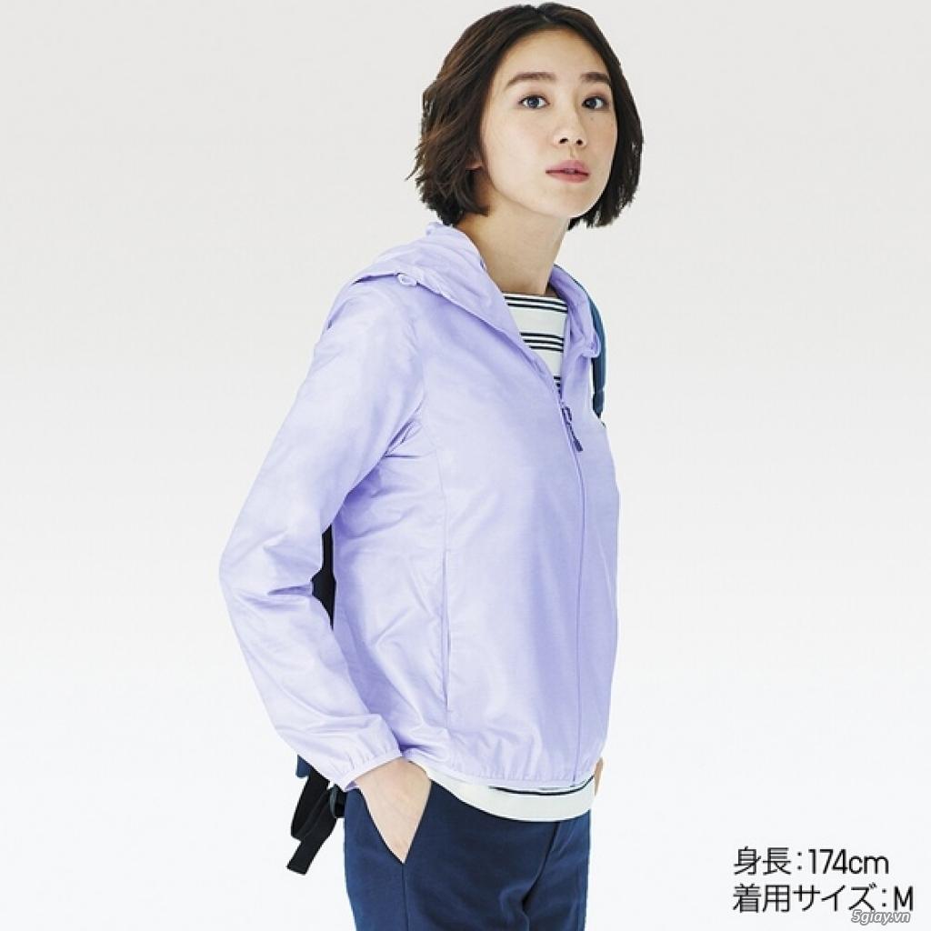 Áo chống nắng Uniqlo xuất Nhật siêu mỏng nhẹ tiện lợi - 10