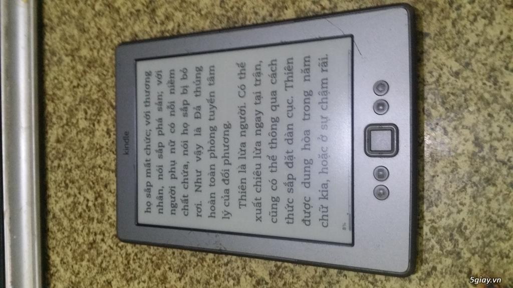 Bán Kindle basic 2012 (4th), nghiêm chỉnh, ngoại hình hơi xấu.