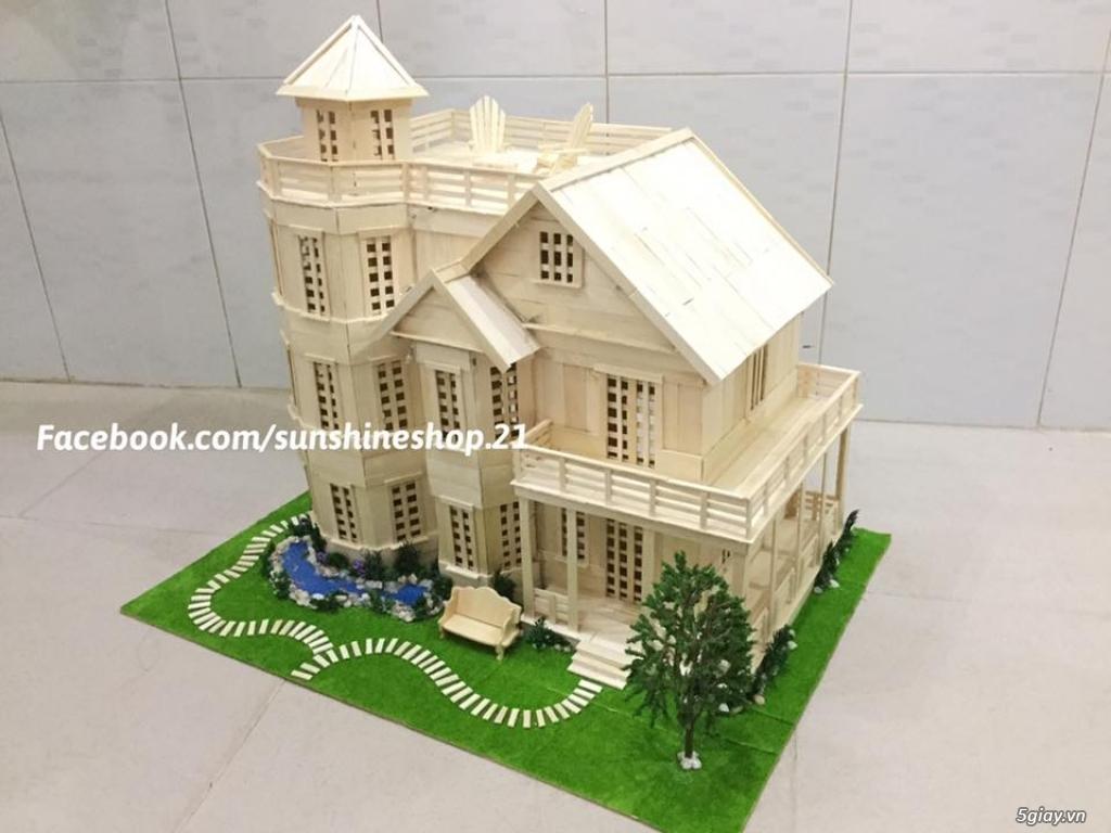 SunShineShop - Nhận đặt làm mô hình nhà que theo yêu cầu - 7