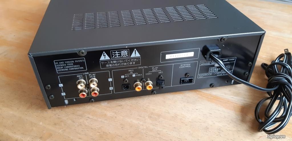 MD Sony JA50ES, Loa Wharfedale W70, Loa Infinity RS-255. - 84