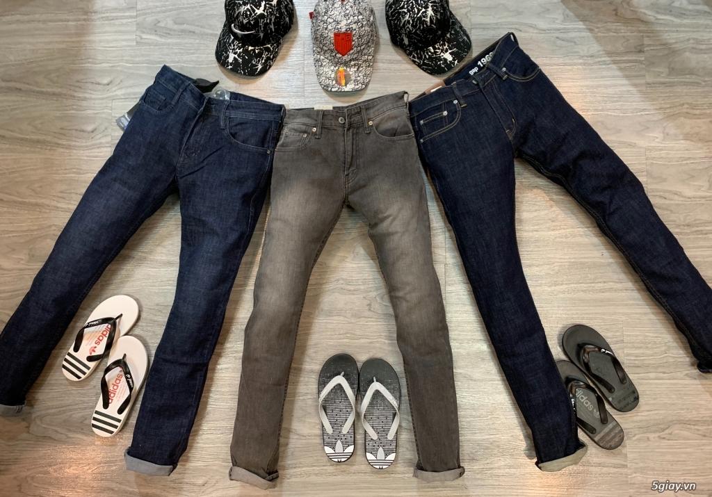 Quần jeans đơn giản ,ống suông cho ae thích đơn giản,hàng hoá đa dạng - 11
