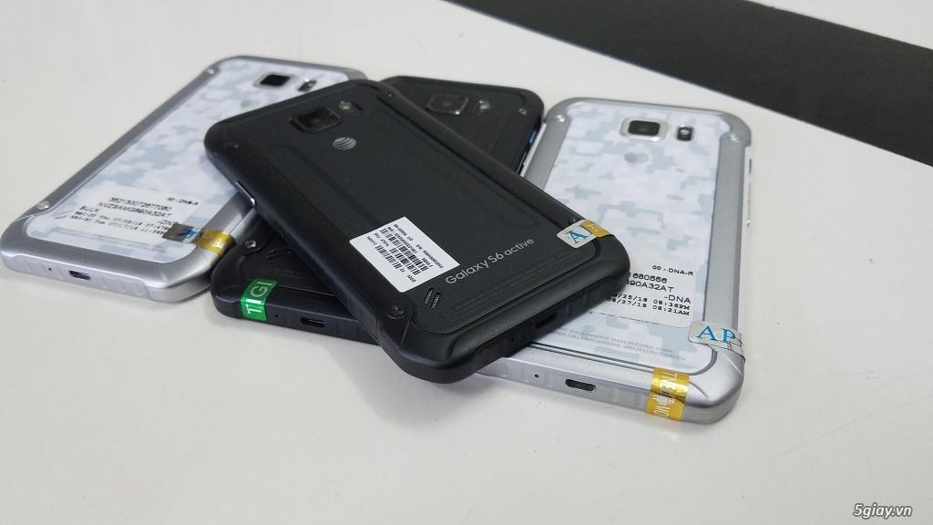 Samsung Galaxy S6 Active - Hàng Trưng Bày Siêu Thị cực đẹp- Chống Nước - 13
