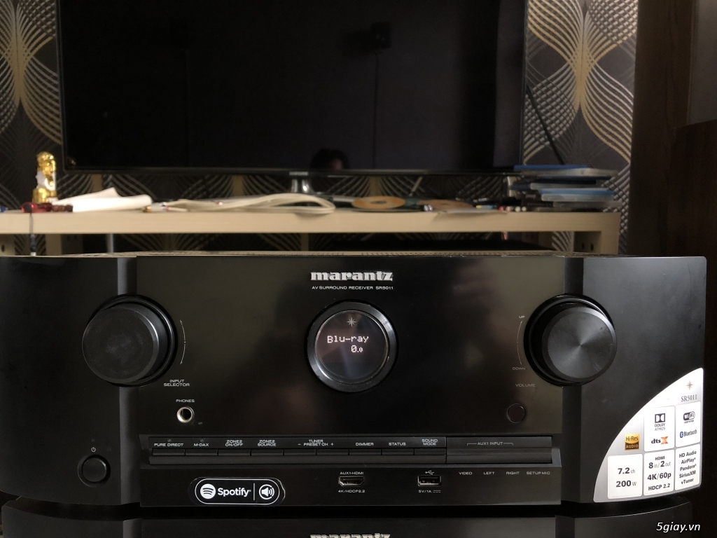 Ampli, CD, receiver, loa, subwoofer, center, surround các loại... - 18