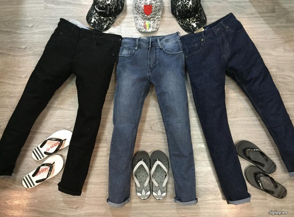 Quần jeans đơn giản ,ống suông cho ae thích đơn giản,hàng hoá đa dạng - 4