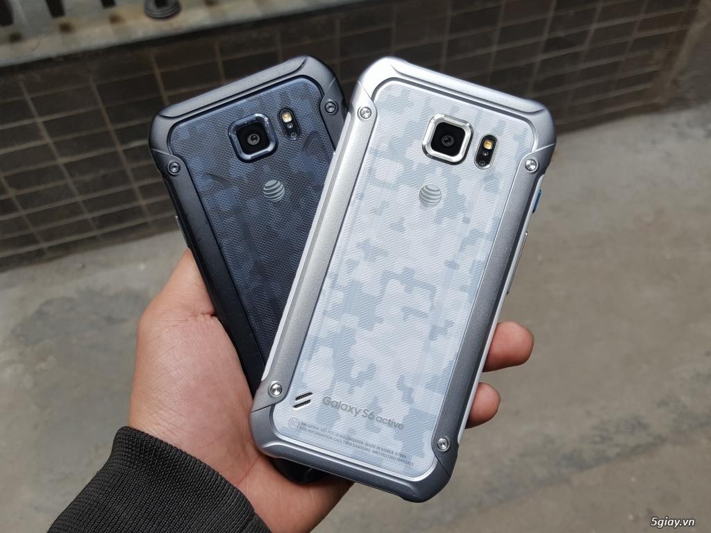 Samsung Galaxy S6 Active - Hàng Trưng Bày Siêu Thị cực đẹp- Chống Nước - 12
