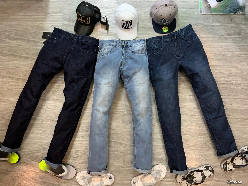 Quần jeans đơn giản ,ống suông cho ae thích đơn giản,hàng hoá đa dạng - 2