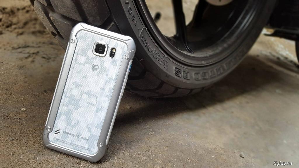 Samsung Galaxy S6 Active - Hàng Trưng Bày Siêu Thị cực đẹp- Chống Nước - 7