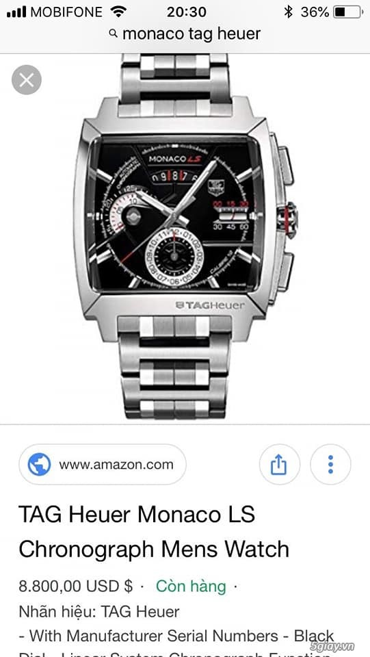 TAG Heuer GRAND CARRERA Calibre ,AQUARACER,LS MONACO NEW ALL - 7