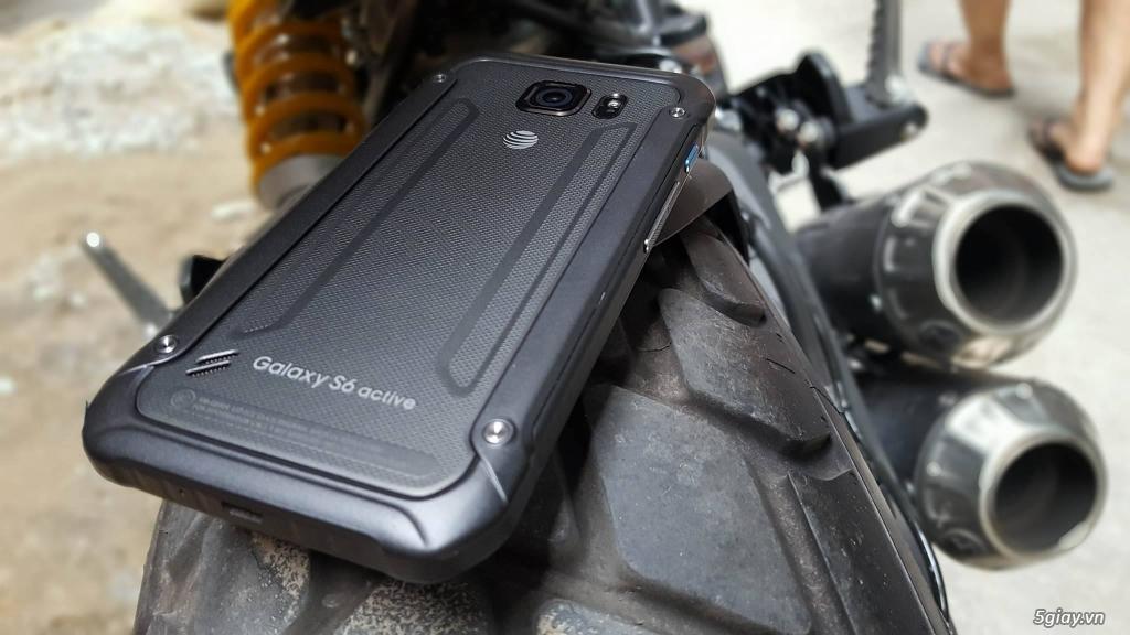 Samsung Galaxy S6 Active - Hàng Trưng Bày Siêu Thị cực đẹp- Chống Nước - 4