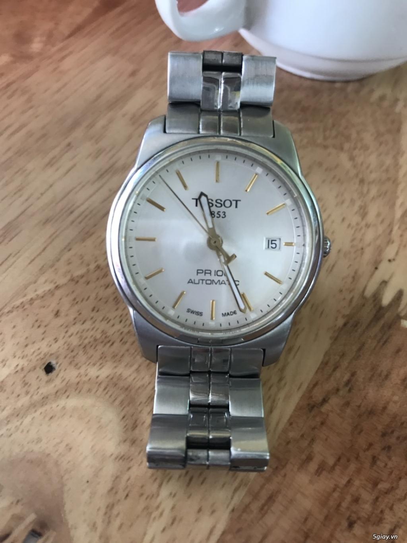 Cần bán đồng hồ tissot automatic chính hãng!!! - 1