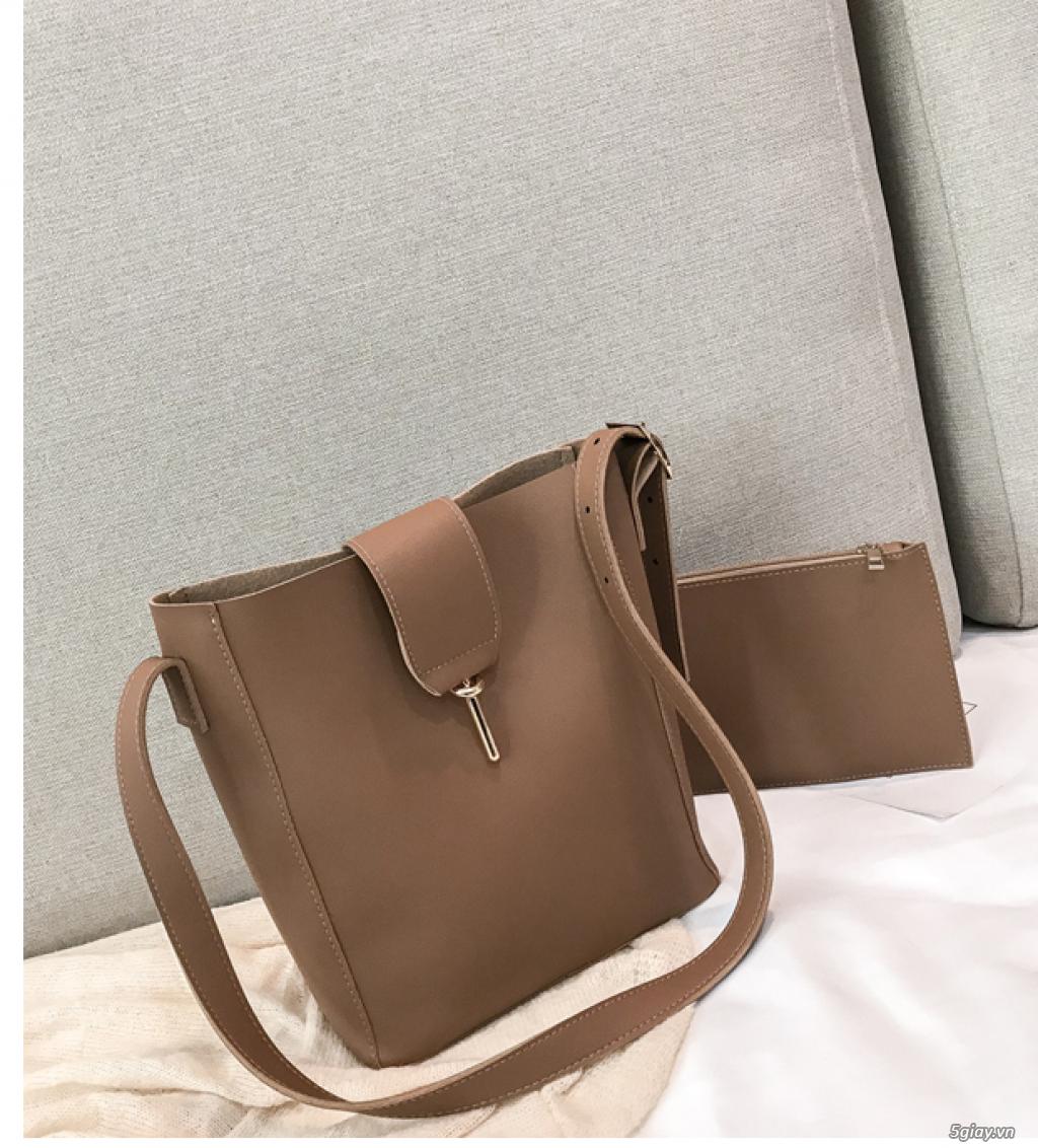 Túi xách Hàn Quốc phiên bản đơn giản túi xách giá rẻ túi xách nữ - 2