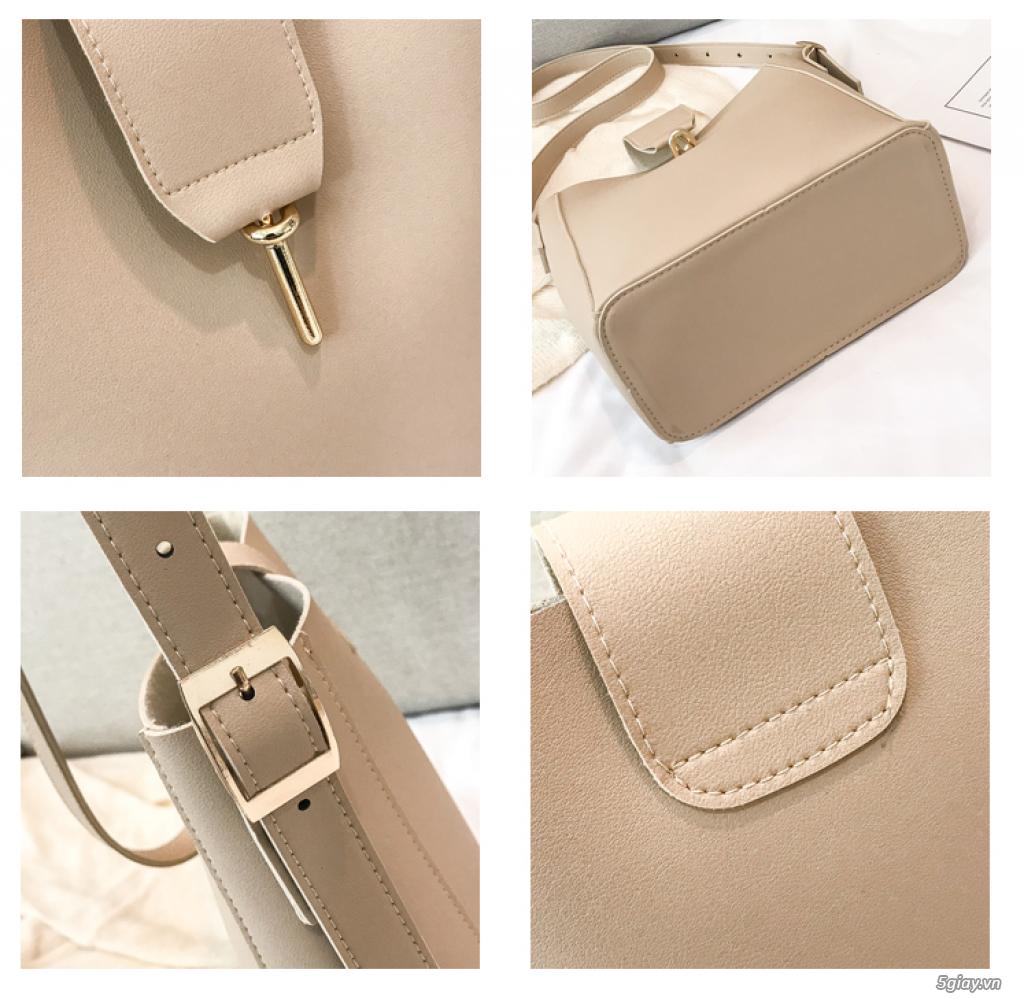 Túi xách Hàn Quốc phiên bản đơn giản túi xách giá rẻ túi xách nữ - 6