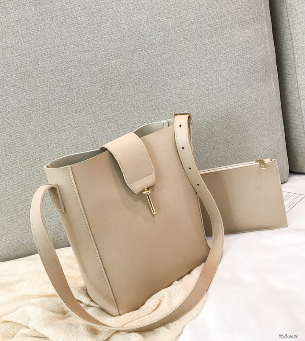 Túi xách Hàn Quốc phiên bản đơn giản túi xách giá rẻ túi xách nữ - 1