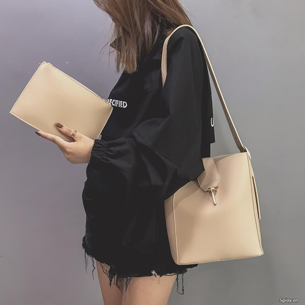 Túi xách Hàn Quốc phiên bản đơn giản túi xách giá rẻ túi xách nữ - 4