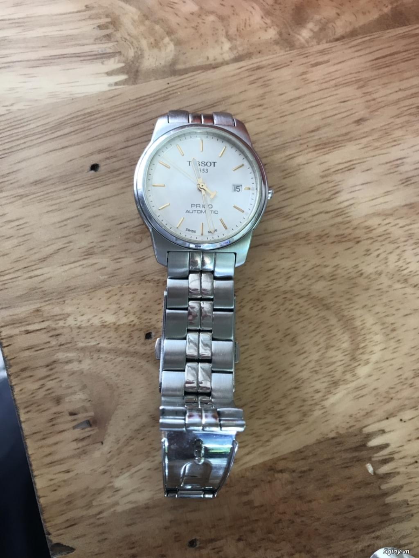 Cần bán đồng hồ tissot automatic chính hãng!!! - 3