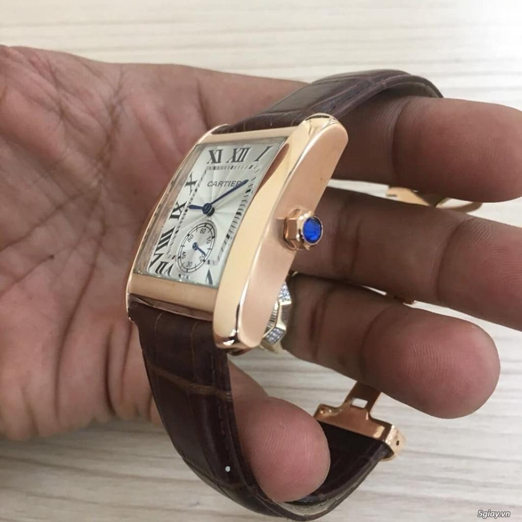 Chuyên đồng hồ Catier,Corum sang trọng Men & Lady model mới nhất 2019 - 40
